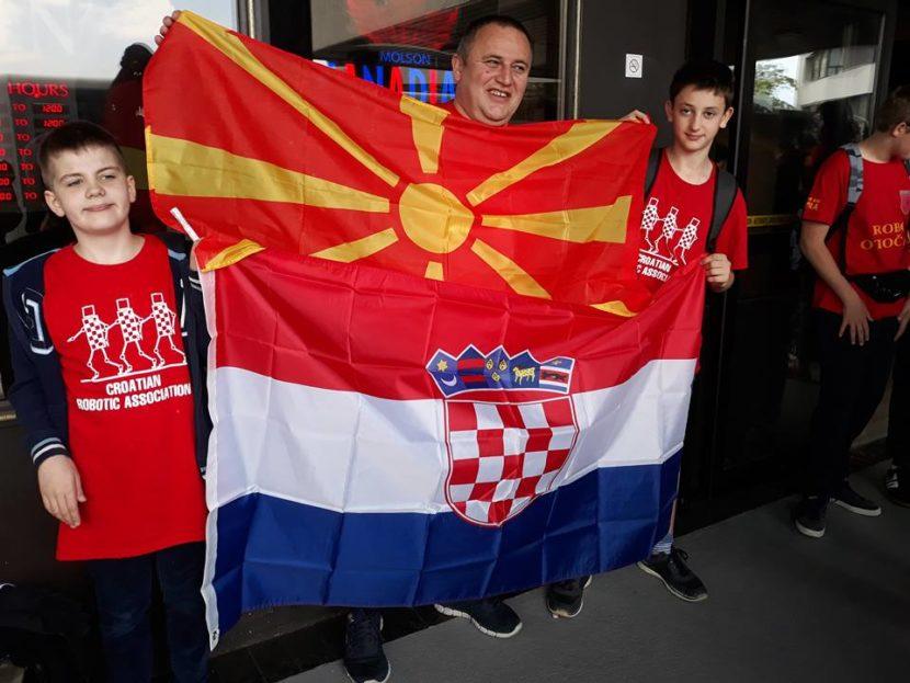 Седмоодделенец од Хрватска со потекло од Охрид е европски шампион во роботика